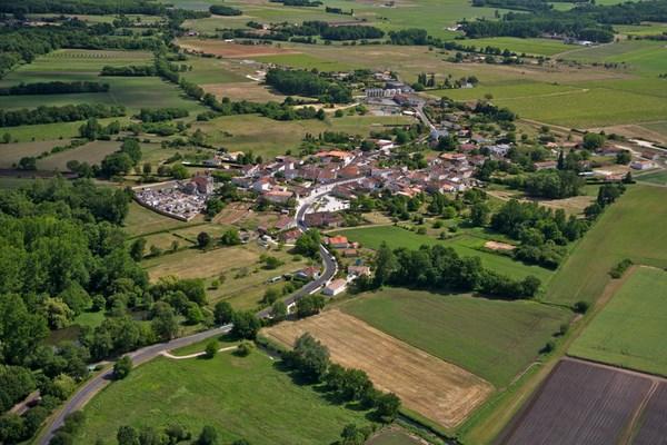Reportage photos aériennes St.André de Lidon