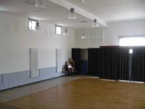 Salle des Fêtes (intérieur vue scène)