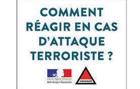 Réagir en cas d'attaque terroriste