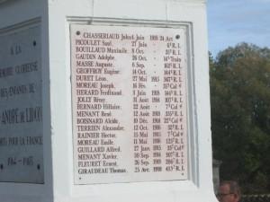 plaque commémorative 11112016