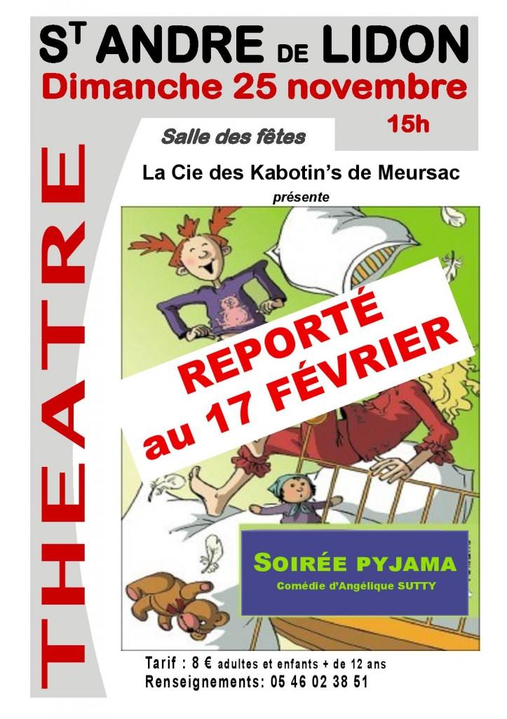 AFFICHE Théâtre Meursac2018 report