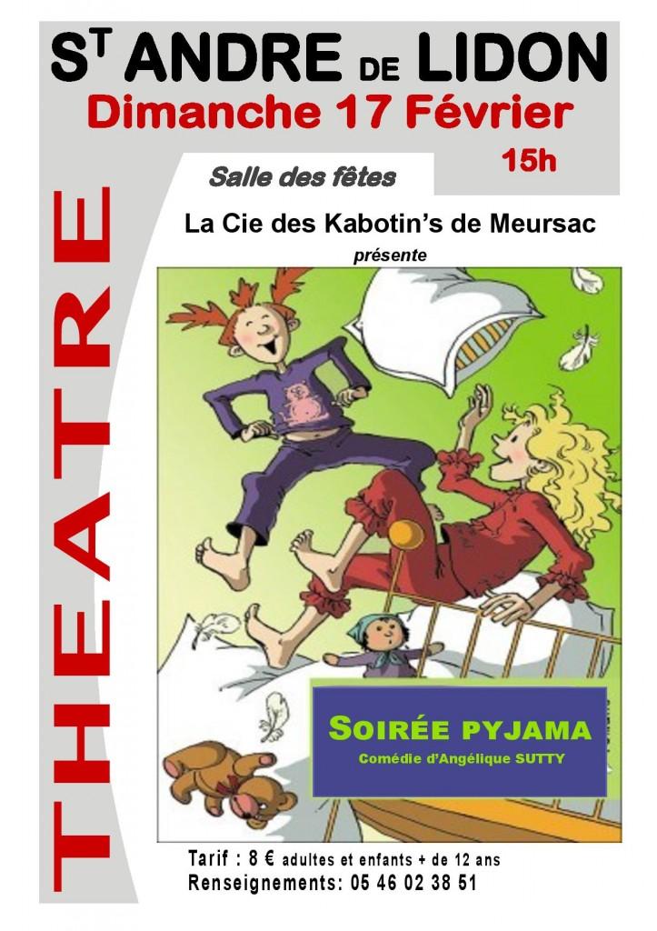 Théâtre avec les Kabotin's de Meursac