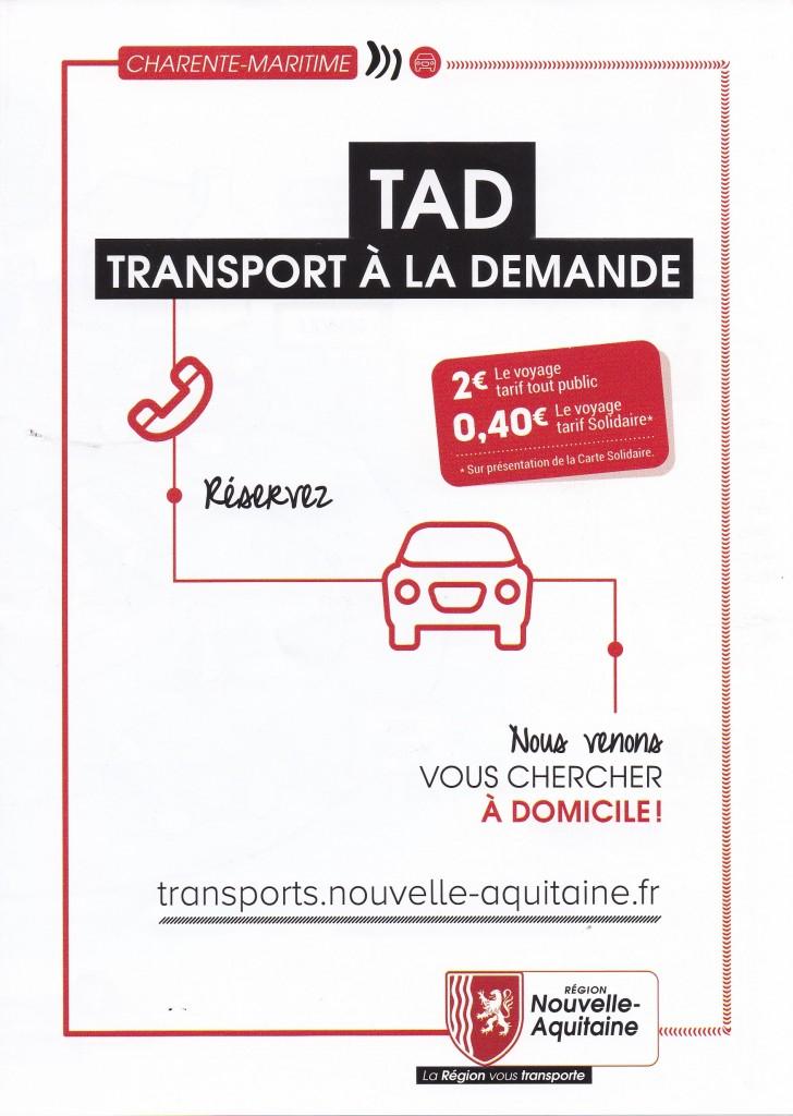 TAD Transport à la demande
