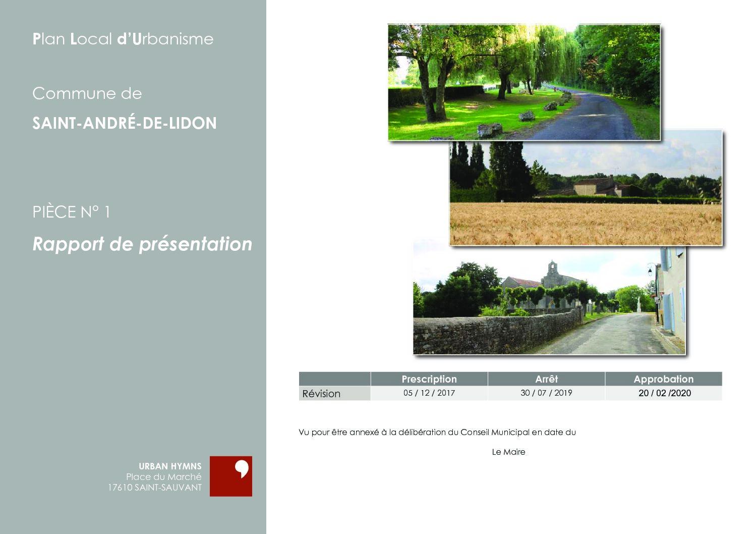 PIECE N° 1 – RAPPORT DE PRESENTATION-compressé