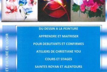 flyer association art et culture