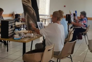L'atelier de peinture de Christiane YOU